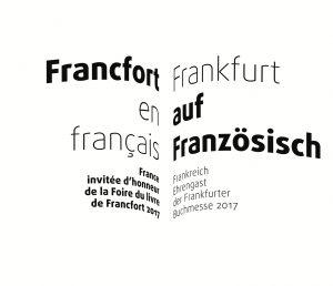 Frankreich neues Thema des Monats Buchmesse
