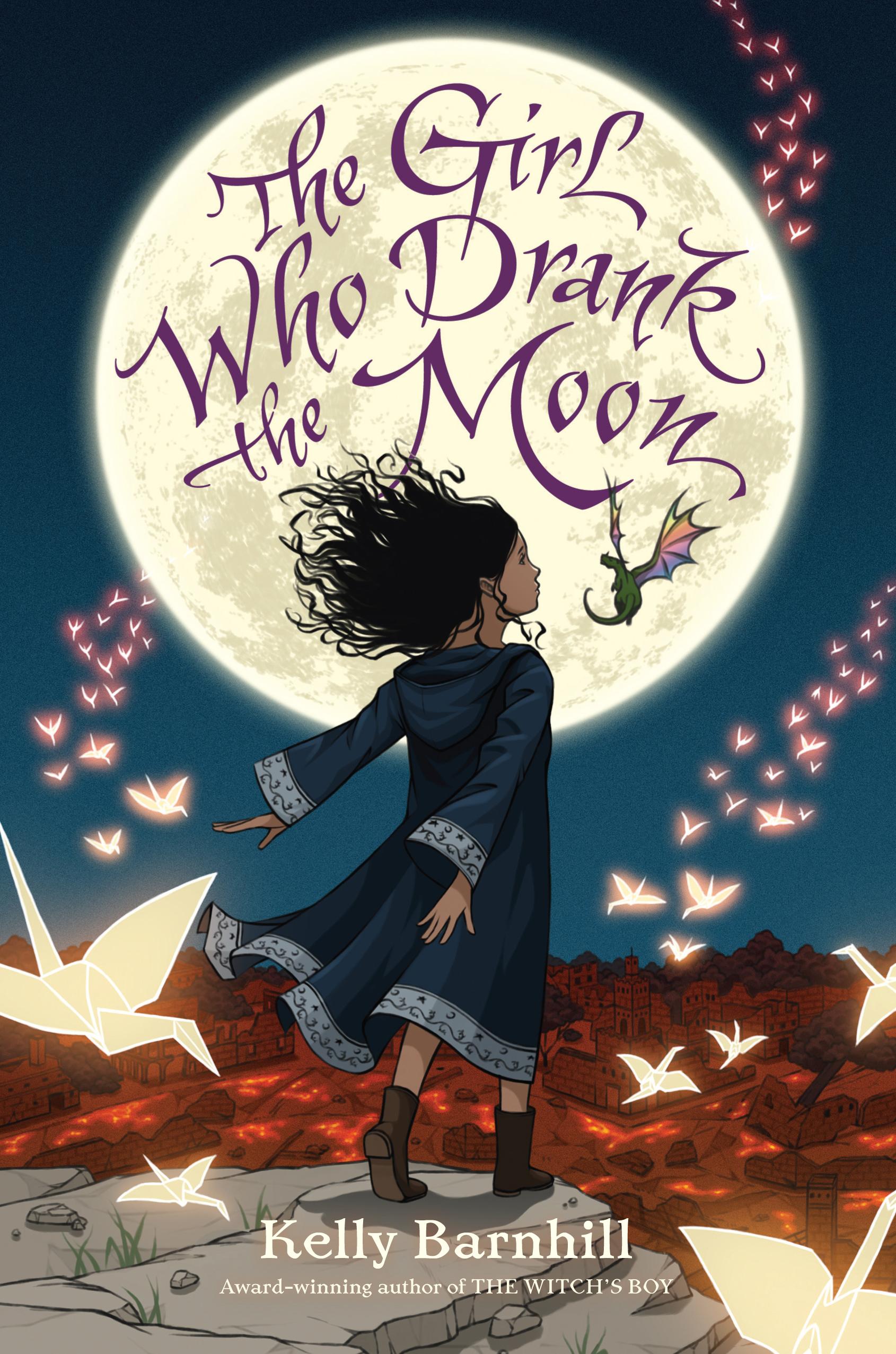 Kelly Barnhill Das Mädchen, das den Mond trank